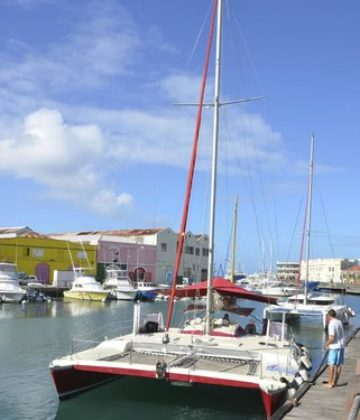 Stiletto Catamaran Sailing Cruises
